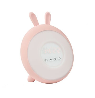 Rabbit & Friends Wake Up Lamp Herätysvalo, Soft Rose