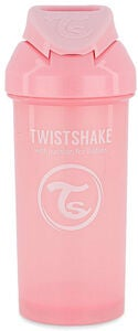 Twistshake Pillimuki 360 ml 6+ kk, Pastel Pink