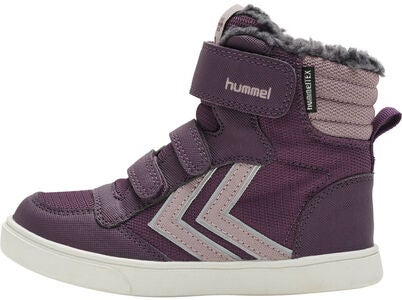 Hummel Stadil Super Poly Mid Jr Tennarit, Blackberry Wine