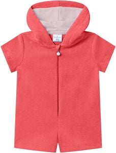 Saltabad Charlie Froteejumpsuit, Coral