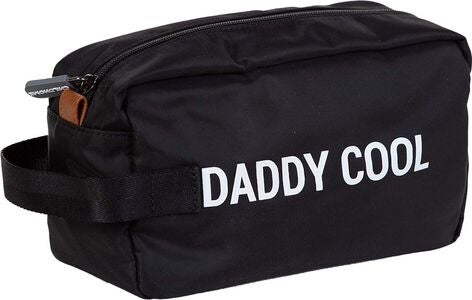 Childhome Daddy Cool Toilettilaukku, Black/White