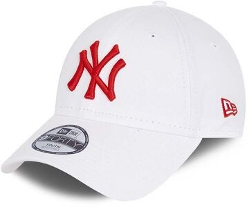 New Era NYY League Essential 9Forty Lippalakki, White