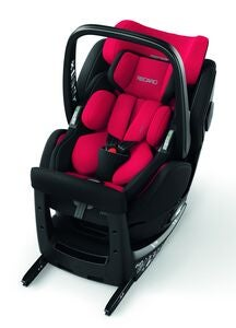 Recaro Zero 1 Elite i-Size Turvaistuin, Racing Red