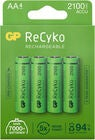 GP Batterier ReCyko AA 4-pack