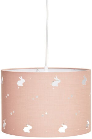 Alice & Fox Lampunvarjostin Rabbit, Dusty Pink