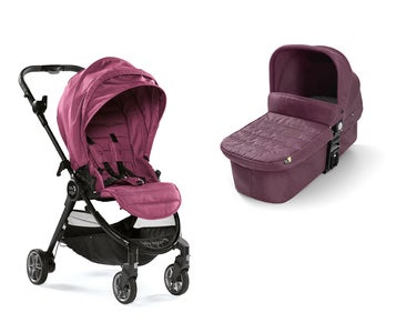 Baby Jogger City Tour Lux Duo, Rosewood