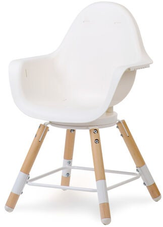 Childhome Evolu One 80° Syöttötuoli 3 in 1, Natural White