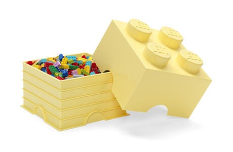 LEGO Säilytyslaatikko 4 Design Collection, Cool Yellow