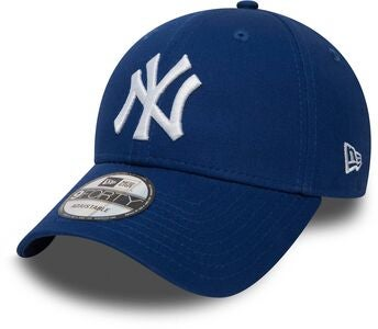 New Era NYY League Essential 9Forty Lippalakki, Light Royal White