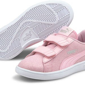 Puma Smash V2 Glitz Glam V PS Tennarit, Pink Lady