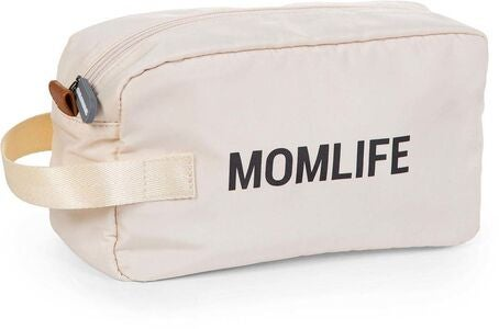 Childhome Mom Life Toilettilaukku, Offwhite/Black