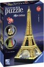 Ravensburger 3D-Palapeli Eiffeltorni Night Edition 216