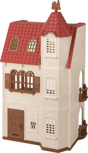 Sylvanian Families Leikkisetti Red Roof Tower House