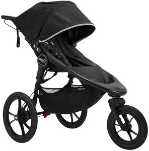Baby Jogger Summit X3 Juoksurattaat, Midnight Black