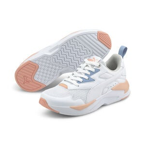 Puma X-Ray Lite Jr Tennarit, White
