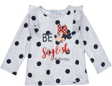 Disney Minni Hiiri Trikoopaita, Light Grey
