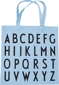 Design Letters Favourite ABC Kangaskassi, Light Blue