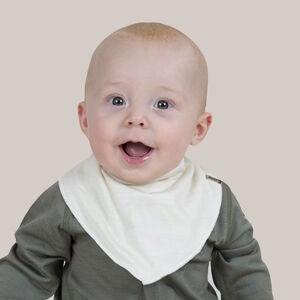 Janus Baby Lightwool Scarf, Off White