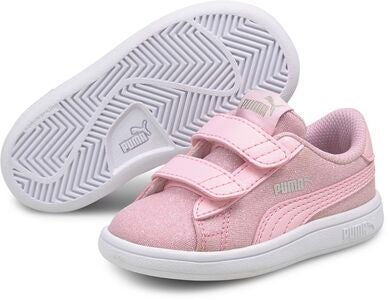Puma Smash V2 Glitz Glam V INF Tennarit, Pink Lady