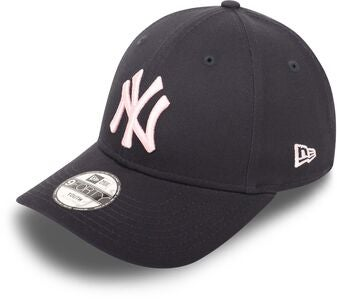 New Era NYY League Essential 940 Lippalakki, Navy Pink
