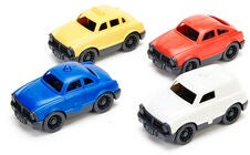 Green Toys Pikkuautot 4-Pack