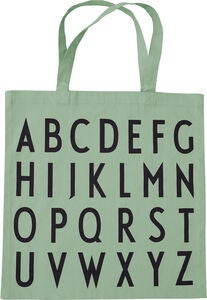Design Letters Favourite ABC Kangaskassi, Light Green