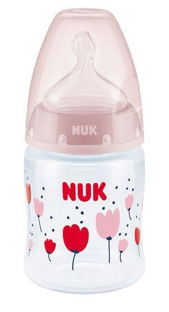 NUK First Choice+ 150 ml Tuttipullo, Vaaleanpunainen