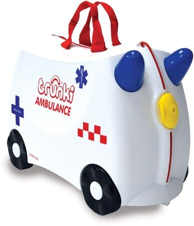 Trunki Abbie The Ambulance Matkalaukku 18L, White