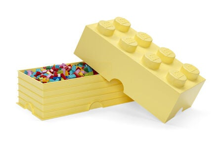 LEGO Säilytyslaatikko 8 Design Collection, Cool Yellow