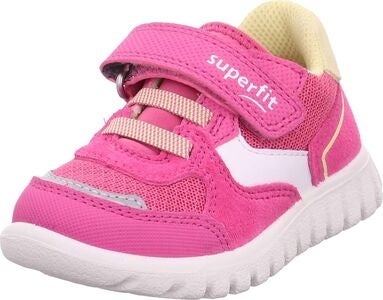 Superfit Sport7 Mini Lenkkarit, Pink/Yellow