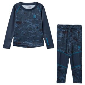 Tenson Billy Set Print Jr Alusasu, Dark Grey