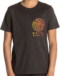 Rip Curl Multi Art SS Tee T-paita, Pirate Black
