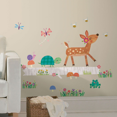 RoomMates Wallstickers Woodland Giant