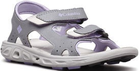 Columbia Youth Techsun Sandaalit, Grey/White Violet
