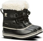 Sorel Youth Pac Nylon Talvisaappaat, Black
