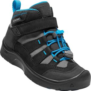 KEEN Hikeport Mid WP Kengät, Black/Blue Jewel