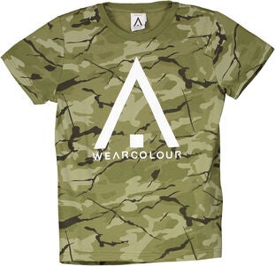 Wearcolour Patch T-Paita, Forest