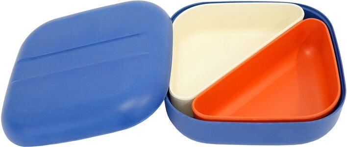 Ekobo Go Square Bento Eväsrasia, Royal Blue