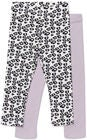 Luca & Lola Alberta Leggingsit 2-Pack, Purple/White