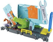 Hot Wheels City Gator Garage Attack Lelusetti