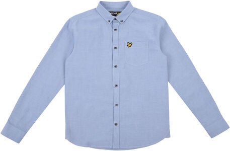 Lyle & Scott Junior Oxford Kauluspaita, Sky Blue