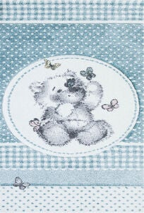 Atlas Teddybear Matto, Turkoosi 120x170