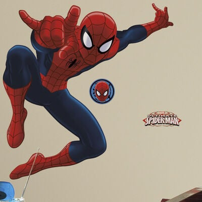 RoomMates Wallstickers Giant, Spiderman