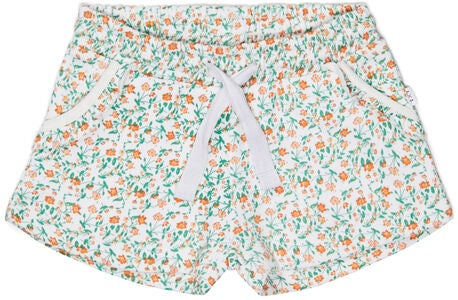 Luca & Lola Duna Shortsit, White/Flowers
