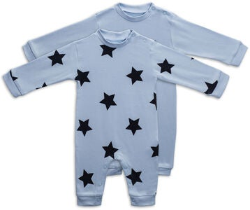 Tiny Treasure Maxime Jumpsuitit, Baby Blue