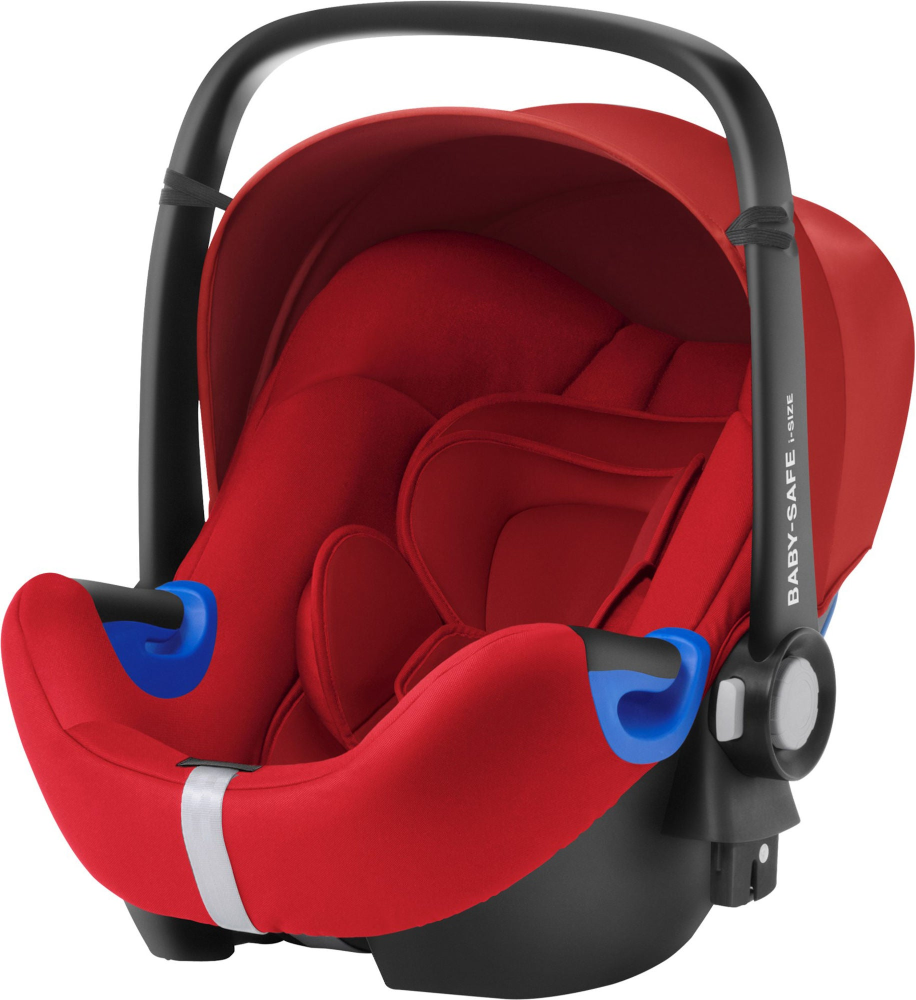 osta britax r mer baby safe i size turvakaukalo flame red. Black Bedroom Furniture Sets. Home Design Ideas