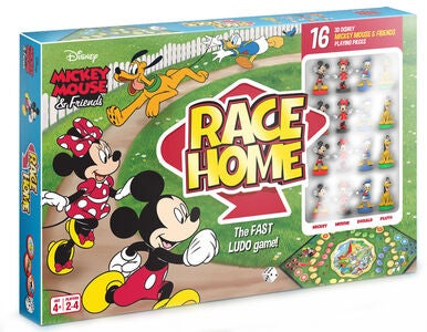 Disney Mikki Hiiri Peli Mickey & Friends Race Home Ludo
