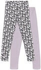 Luca & Lola Venetia Leggingsit 2-pack, Purple/White