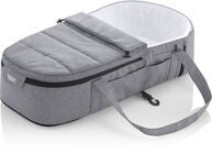 Britax GO BIG Kantokassi Soft Carrycot, Grey Melange
