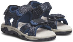 Little Champs Race Glitter Sandaalit, Navy